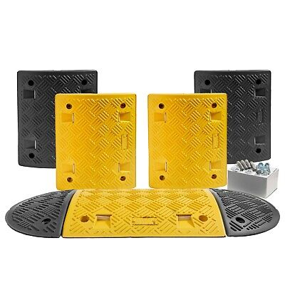 3 M Speed Ramp Kit: 75mm 5 MPH (5 Midsections + 2 End Caps - Fixings Included)