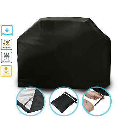 Extra Large BBQ Cover Heavy Duty Waterproof Garden Barbecue Grill Gas Protector