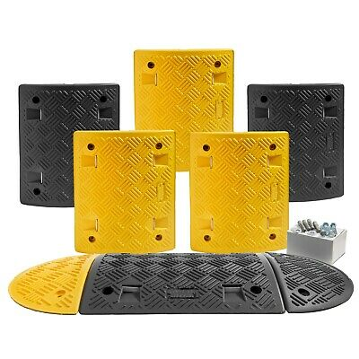 3.5M Speed Ramp Kit: 75mm 5 mph (5 Midsections + 2 End Caps -