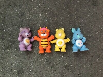 Vintage Care Bears figures funshine rabbit cousin wuzzle