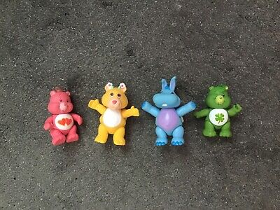 Vintage Care Bears figures good luck love a lot wuzzles