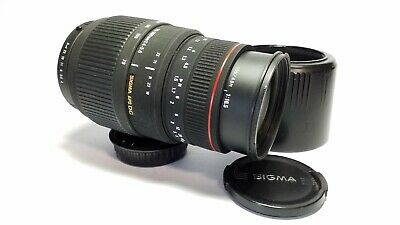 Sigma APO DG 70-300mm f4-5.6 Auto Focus Lens for Pentax DSLR K Mount *READ*