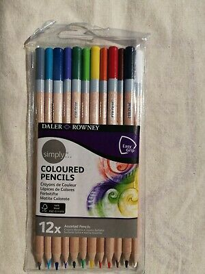 Daler Rowney Simply Coloured Pencils Easy Grip