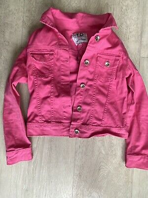 girls denim jacket age 9-10years Primark