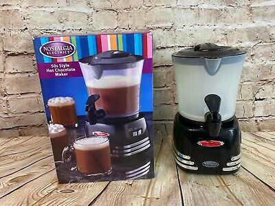 Nostalgia Electrics 50s Style Hot Chocolate Maker Pre Owned Excellent Condition