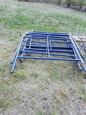 Pre-owned Vanguard Manufacturing   Scaffold set for exterior use
