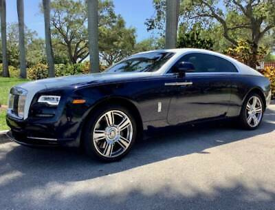 2017 Rolls-Royce Wraith  2017 Rolls Royce Wraith Beautiful Navy/White 6K Miles Huge $361K MSRP Like New