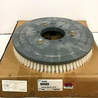 "Tennant 1016764 Brush Assembly Disk Scrub Nylon 17"" Outer Diameter"