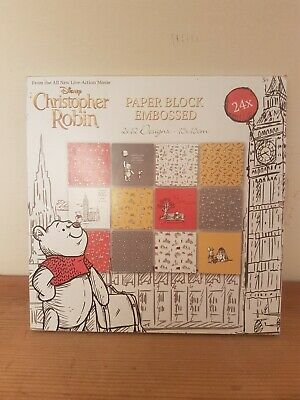 DISNEY CHRISTOPHER ROBIN WINNIE THE POOH  DECORATIVE STENCILS PACK OF 48 PIECES