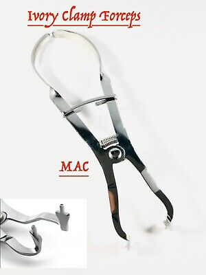 Rubber Dam Plier Ivory Light Clamp Forceps Endodontic Restorative Instruments