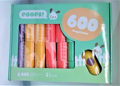 POOPS! - 600 Bags - PET PRODUCTS FREE SHIPPING