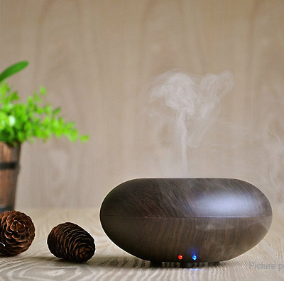 GX.Diffuser Ultraschall Aroma Diffusor,  with 2*10ml Essential oil