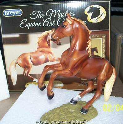 Breyer Artist Resin Breeds of The Masters of Equine Art Royal Blood