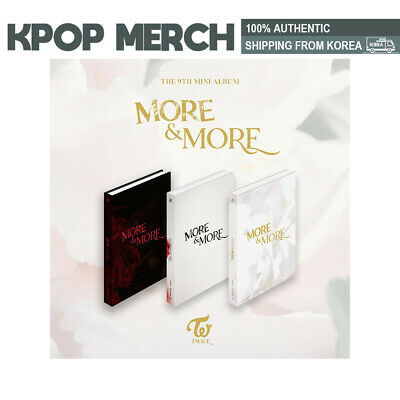 Twice More and More 9th Mini Album (Incl. Pre-order Benefits, First Press Album)