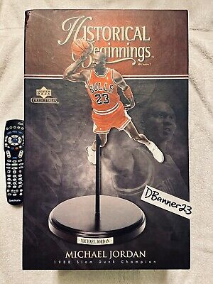 1988 Slam Dunk Contest Michael Jordan Upper Deck Historical Beginnings 23 3 Iii