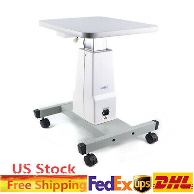 Electric Optometry Lifting Work Table Optical Motorized Instrument 40cmx48cm