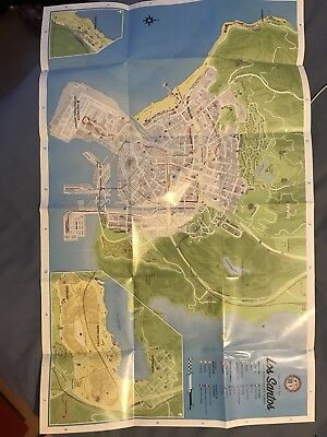 Grand theft auto 5 - GTA 5 Map - MANUAL & MAP ONLY.