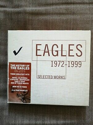 The Eagles - Selected Works 1972-1999 (2013) 4 CD Set Best of Greatest Hits