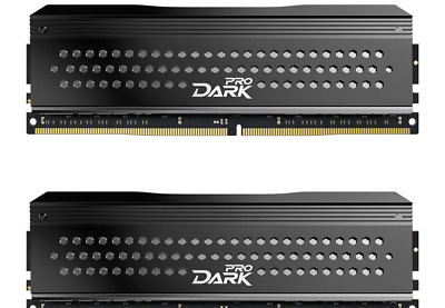 TEAMGROUP T-Force Dark Pro DDR4 16GB KIT (2 x 8GB) 3200MHz (PC4 25600) CL 14 ...