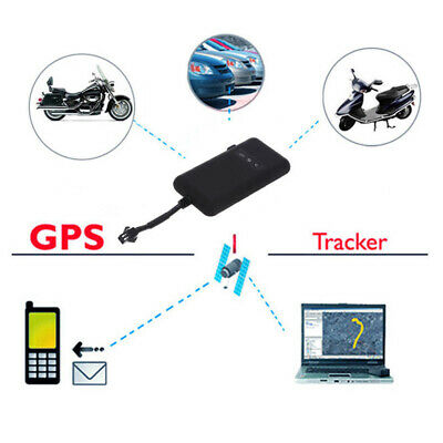 Vehicles GPS GSM Tracker Motorcycle Tracking Device Finding Anti-theft Security