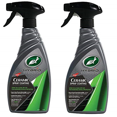 Turtle Wax Hybrid Solutions Ceramic Wax Spray Coating For Cars 2 x 500ml