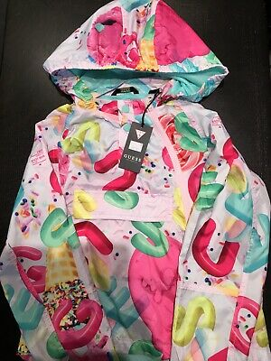 Guess Girls Lightweight Rain Jacket Age 10 Years NEW