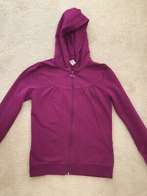 Purple Hoodie Fashion Warm Girls- Age 11-12 Years