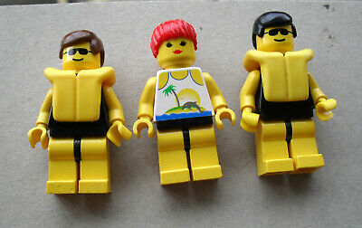 LEGO :   3 personnages