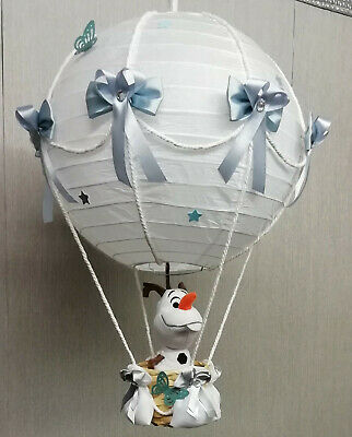 Olaf (Frozen) in Hot Air Balloon Lamp-Light Shade decorative nursery gift
