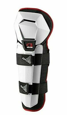 EVS Option Knee/Shin Guards - Adult Size - White - New
