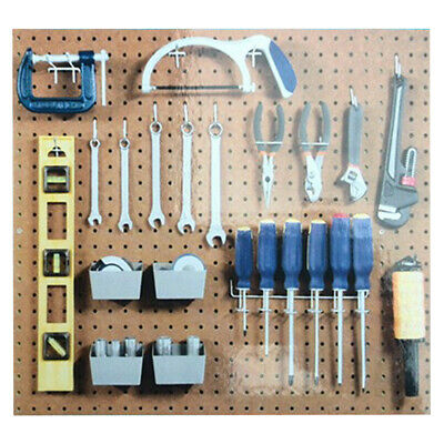 13Pc Pegboard Hook Assortment Kit Storage Shop Garage Organizing Tools Hanger WF