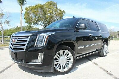 2015 Cadillac Escalade ESV Platinum AWD WOW! TOP OF THE LINE! $100K NEW -WONT LAST! EXPEDITION SUBURBAN DENALI 16 17 18