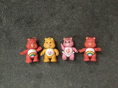 Vintage care bear figures baby hugs,birthday,cheer bear