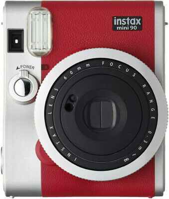 Fujifilm Instax Mini 90 Neo Classic Camera Red