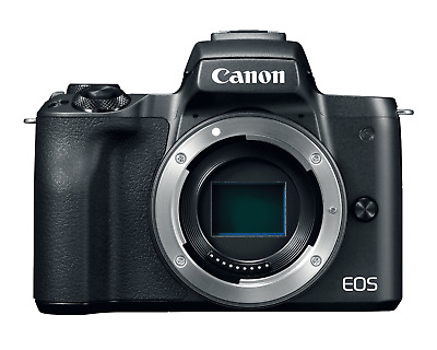 Canon EOS M50 Mirrorless 24.1MP Digital Camera Body Black Factory Refurbished