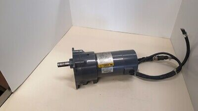 Baldor GPP12544 1/8 HP 83 RPM 90v DC Geared Electric Motor