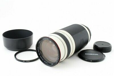 COSINA AF 100-400mm f/4.5-6.7 MC Zoom Lens For Nikon [Exc+++++] From Japan