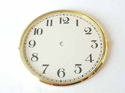 Brass Clock Bezel and Glass 172mm Arabic Dial German Made Quality