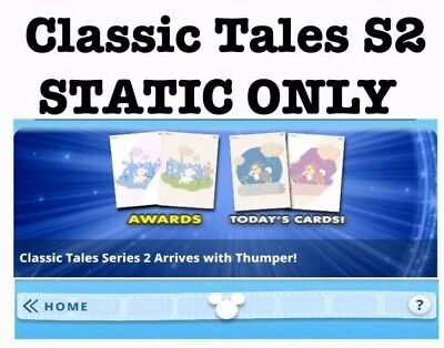 Presale: Static Set Only-Series 2 Classic Tales-Topps Disney Collect