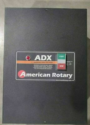 American Rotary Phase Converter ADX10 10HP 1 to 3 Phase. New,never used