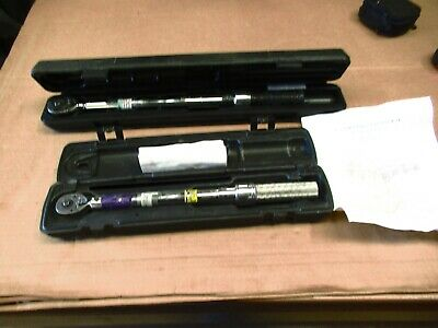 """(2) Torque Wrenches 3/8"""" & 1/2"""""""