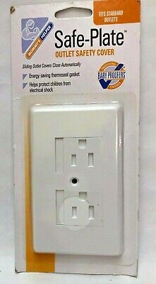 Mommy's Helper Safe-Plate Outlet Safety Cover, 1.0 CT set of 2