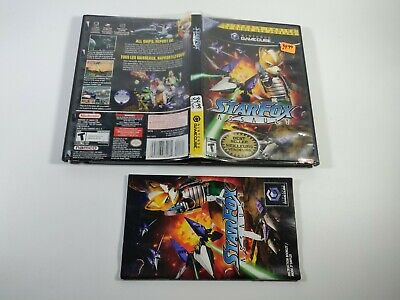 Star Fox Assault Nintendo GameCube Empty Case and Manual Only No Game