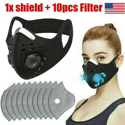 Top Anti Dust Cycling Bicycle Bike Motorcycle face shield Half Scarf 10 Filter