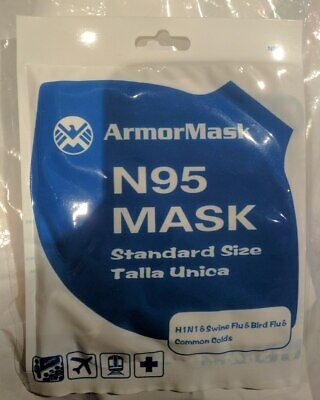 1 Armor Mask M A S K S AMAZING PROTECTION SEALED NEW !!