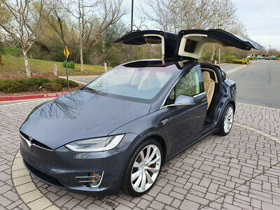 2016 Tesla Model X P90D Sport Utility 4-Door 2016 TESLA MODEL X P90D, ONLY 25K MI, DON'T MISS!