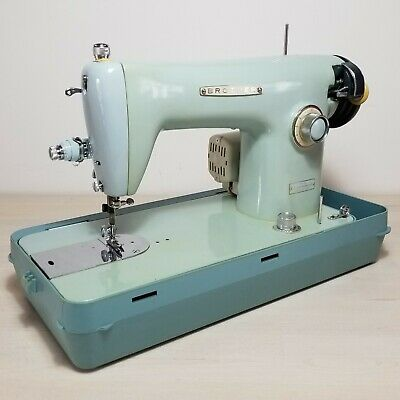 Brother Jones Integrated Drop Feed Sewing Machine Model E Straight Stitch Cased