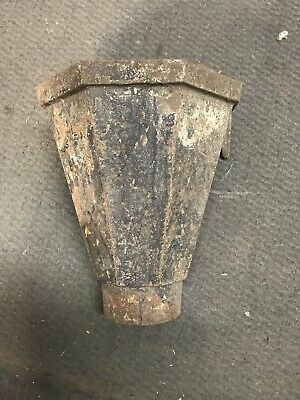 Vintage Cast Iron Gutter Top - 2 Available