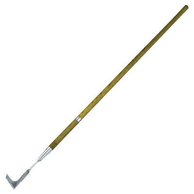 5Ft Extra Long Ash Shaft Handle Stainless Steel Patio Weed Knife Joint Cleaner