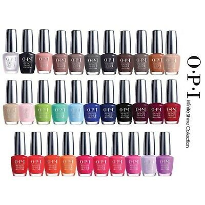 OPI INFINITE SHINE Nail Polish Lacquer 15ml - ASSORTED COLOURS - Free Postage